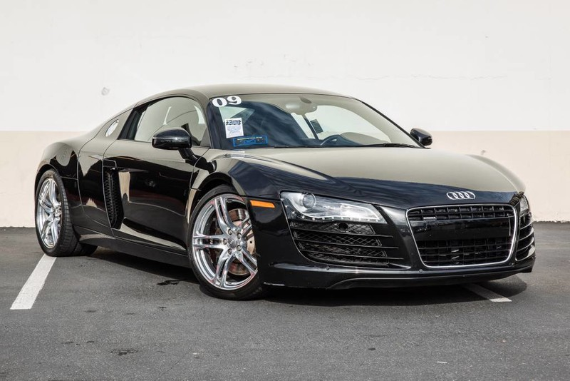 pre owned 2009 audi r8 4 2l 2dr car in newport beach an4582 aston martin newport beach. Black Bedroom Furniture Sets. Home Design Ideas